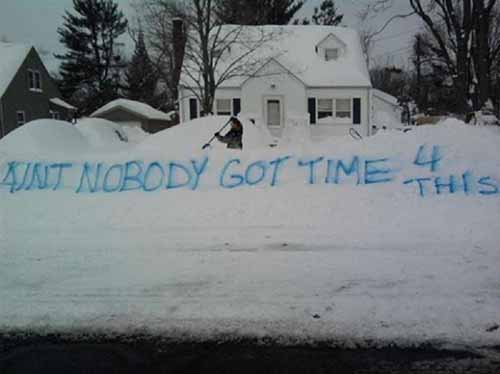 Creative People Making The Best Out Of Winter