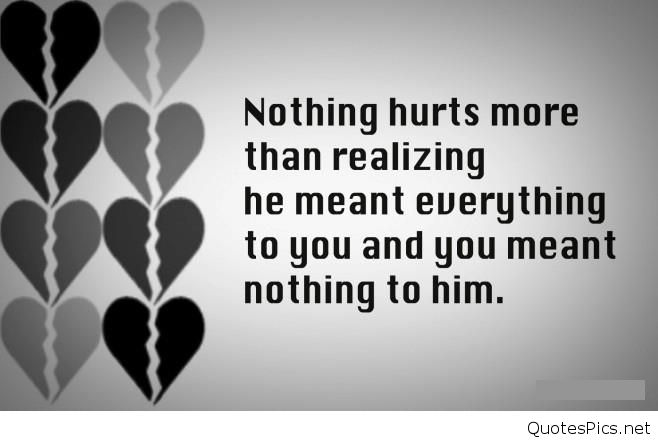 Quotes About Sad Love