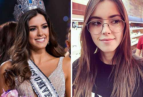 Beauty Queens on the Catwalk Vs in Real Life