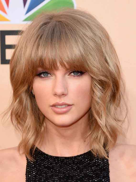15 latest Layered Hairstyles for Medium Length Hair With Bangs