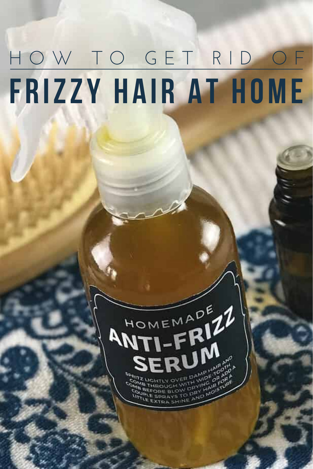 How to Get Rid of Frizzy Hair At Home : Natural Homemade Tips