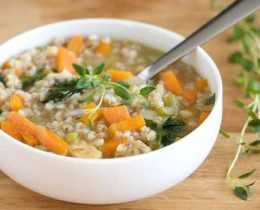 Healthy & Tasty Chicken Barley Soup Best Soup Recipes Ever