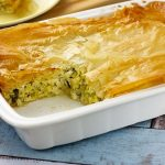 Traditional Greek Leek Pie Prasopita Recipe | Easy Recipe For You