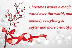10 Inspirational Merry Christmas Quotes with Beautiful Images