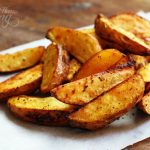 Crispy & Spicy Roasted Potato Fries Oven Baked For You