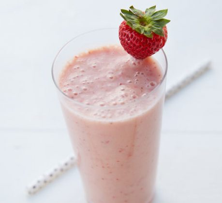 Healthy Banana Strawberry Smoothie Recipe | Fruit Smoothie Recipes