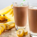Healthy & Creamy Chocolate Banana Smoothie | Chocolate Banana Recipes