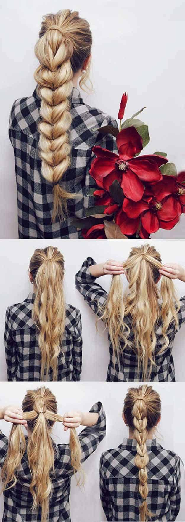 How to do French Braids Step by Step