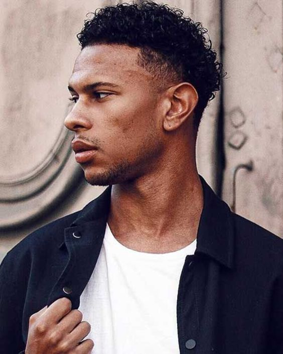 9 Eye Catchy New Hairstyles for Black Men for 2020 (21)