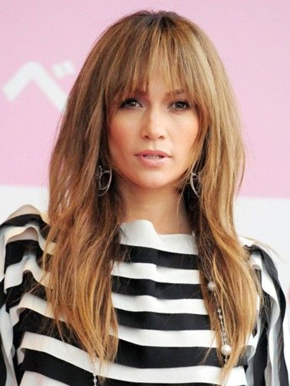 10 Best Long Hairstyles with Fringe for 2020