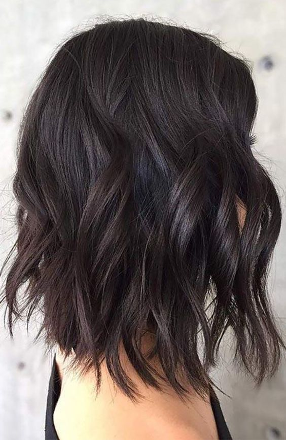 13 Amazing Black Hair Color Ideas Only For You (23)
