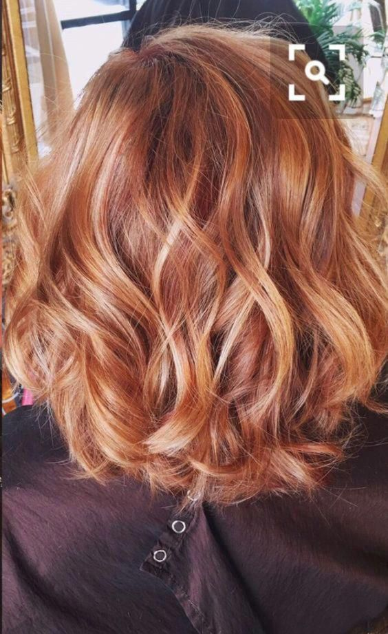 22 Perfect Copper Ombre Hair Color With Highlights For You