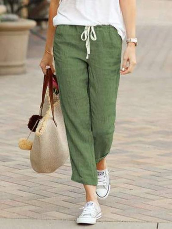 9 of the Best Spring Clothing Style include Pants for Women You Should Apply (11)