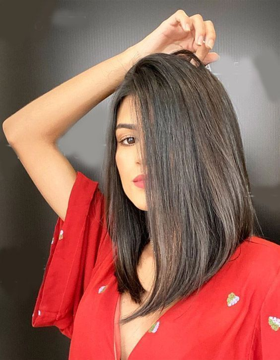10 Gorgeous Spring Hairstyles For Long Hair Inverted Bob (11)
