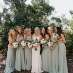 10 Spring Wedding Bridesmaids Dresses for women