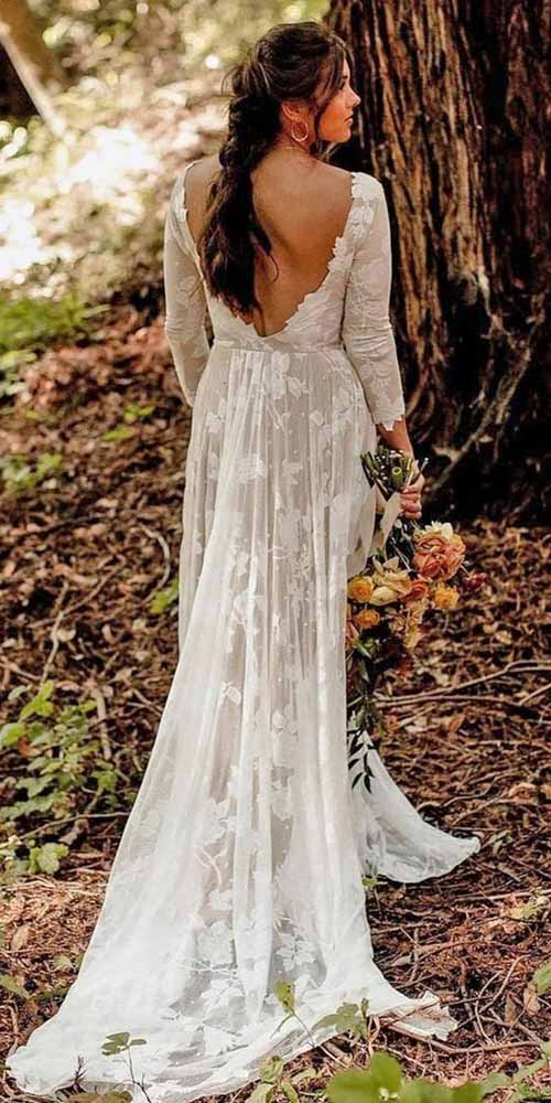 25 Best Of Romantic Spring Wedding Gown For Mature Women