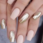 15 Tremendous Nails Acrylic Coffin Short Glitter For Best Attraction (1)
