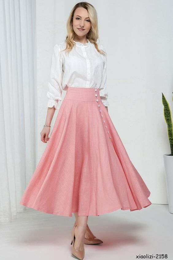 19 Amazingly Attractive Classy Skirt Ideas For You Start From Today (1)