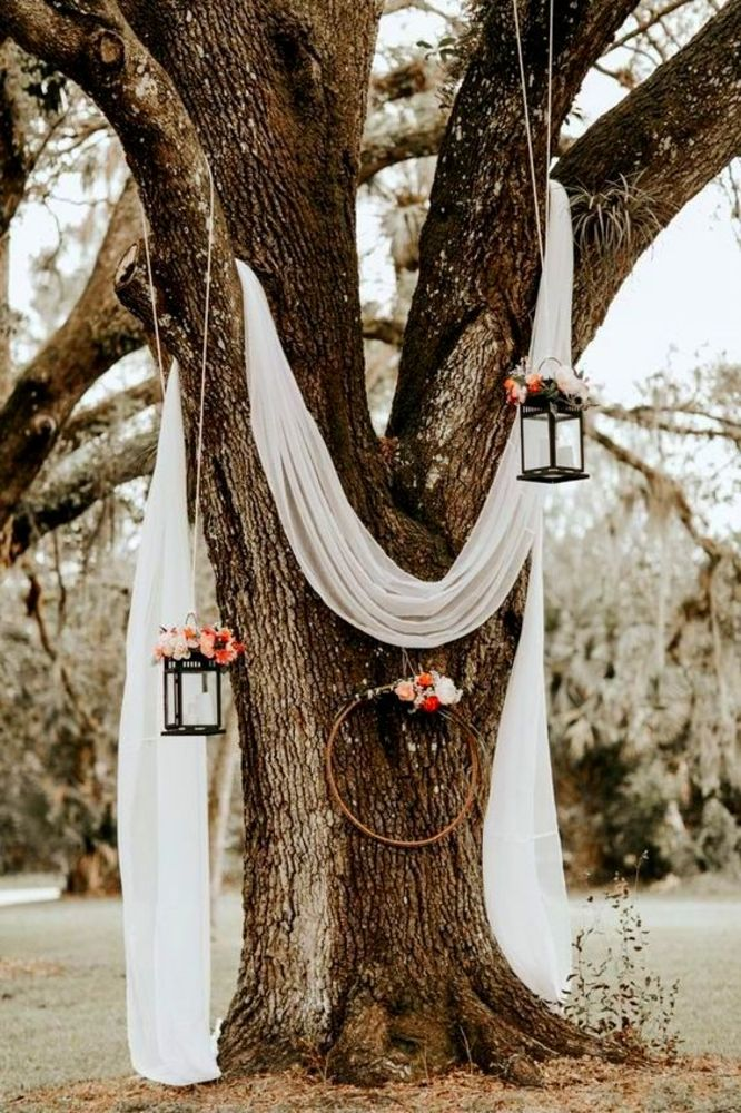 30 Outstanding Outside Summer Wedding Reception Decor Ideas