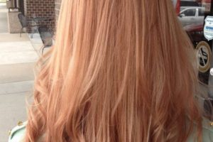 25 Wonderful Spring Hair Color Blonde Rose Gold : Get Unique Hair Color