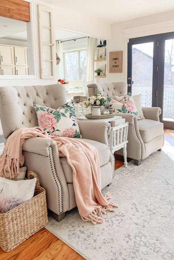 25 Latest And More Attractive Spring Home Decor Living Room Ideas