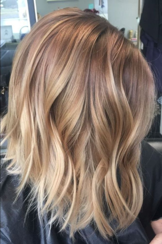 25 Top Class And Cutest Winter Hair Color For Blondes Ombre