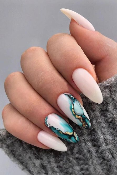 25 Gorgeous Wedding Nail Designs For The Most Beautiful Bride Like You 2021