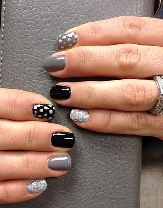30 Fantastic Polka Dot Nail Art Tutorials for 2021