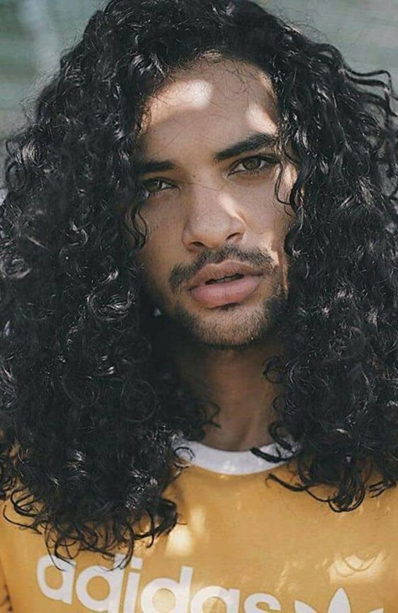Aristocratic Curly Hairstyles For Black Men