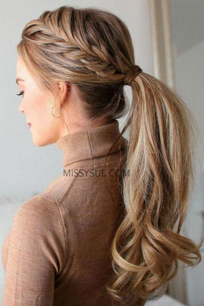 25 Ponytail Hairstyles For Long Hair | Best Ideas for Ponytail Styles