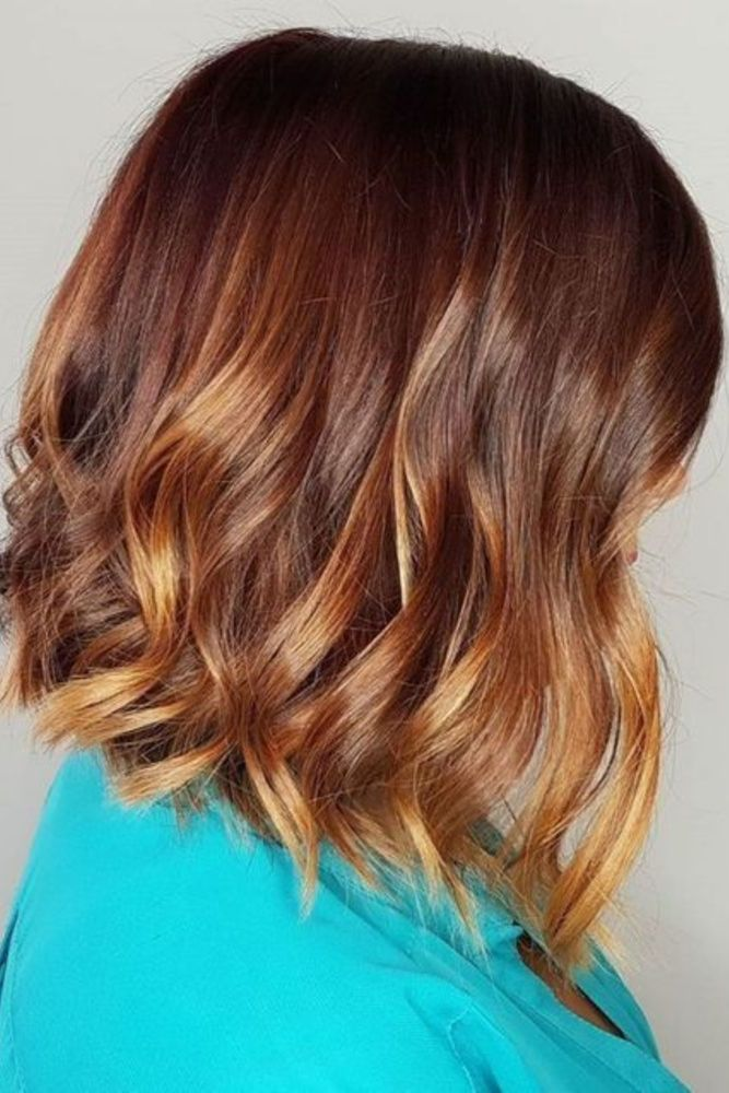 25 Most Beautiful Copper Hair Colors of Ombre and Balayage You Shouldn't Miss!