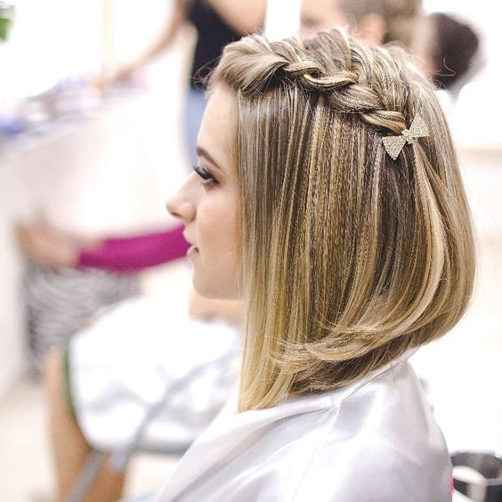 Amazing Prom Hairstyles For Straight Short Hair