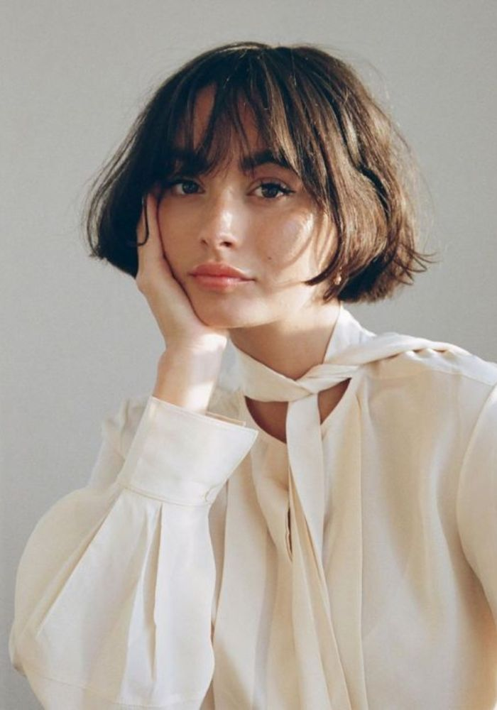 Cutest Hairstyles For Girls With Pretty Bangs