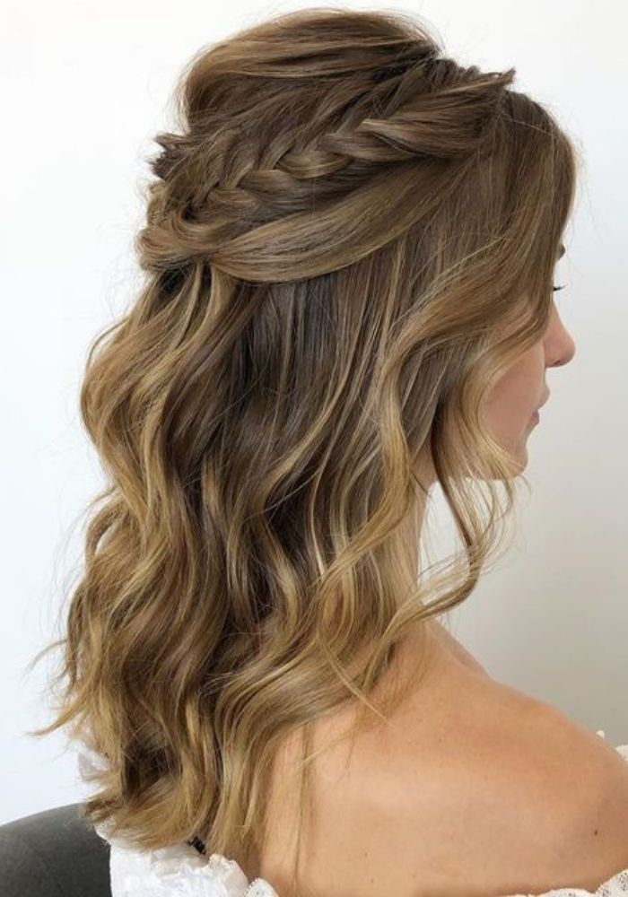 Gorgeous half Up Hairstyles For Long Hair