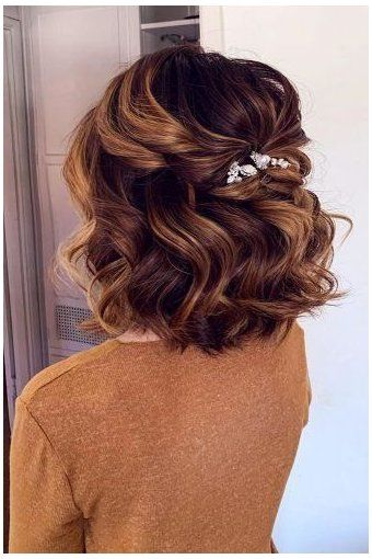 Prettiest Prom Half Up Hairstyles For Short Hair