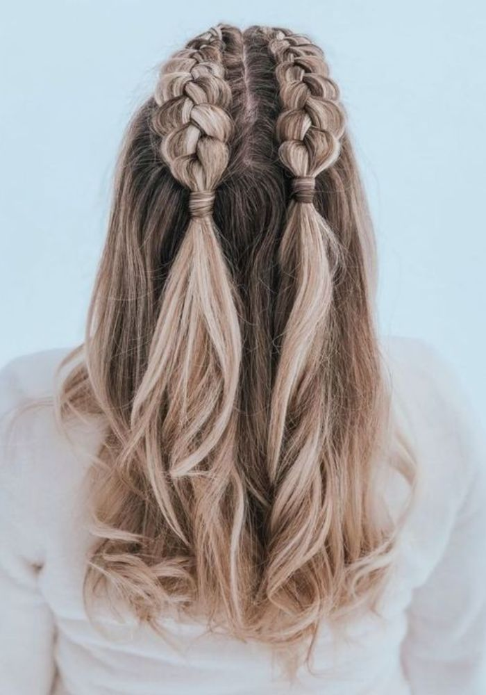 Quick And Cutest Hairstyles For Long Hair For School
