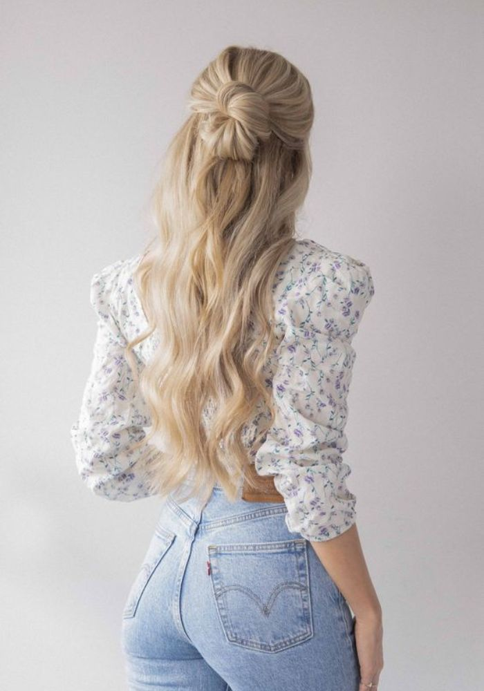 Quick But Most Elegant Half Up Hairstyles For Long Hair